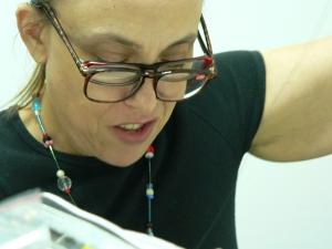 Martha at work
