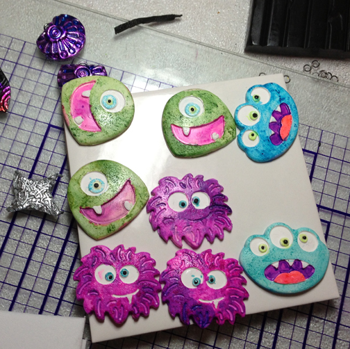 Jenn made monsters....