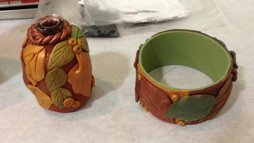And bracelets.