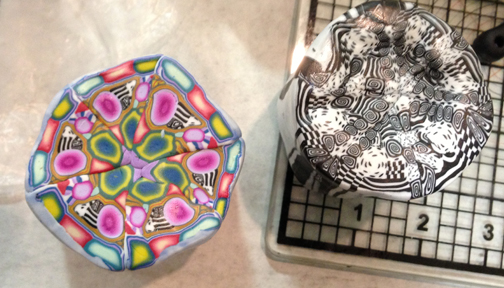 It was kaleidoscope mania at Patty's station!