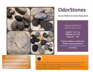 OdorStones Flyer